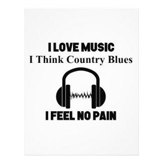 Country Blues Letterhead