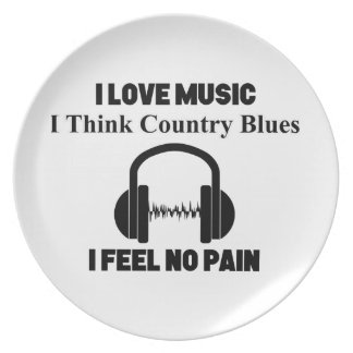 Country Blues Plate