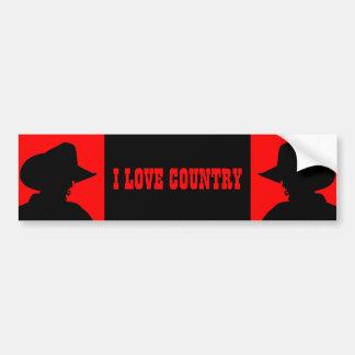 Country Bumper Sticker