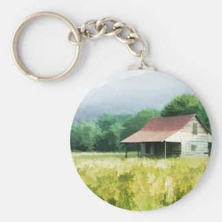 Country Cabin Keychain