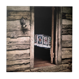 Country Cabin Quilt Tile