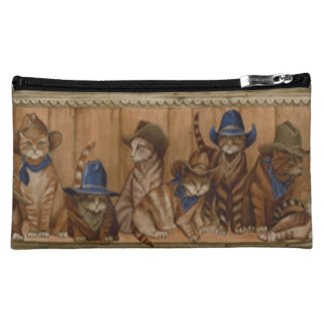 Country Cats Cosmetic Bag