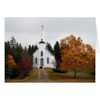 Country Chapel - Autumn 2009 Card
