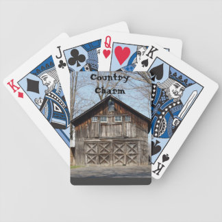 Country Charm Playing Cards