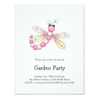 Country Cherries · Pink & Apricot Dragonfly. Card