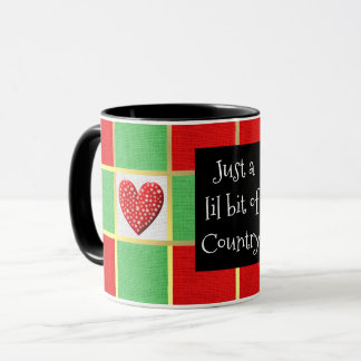 COUNTRY CHRISTMAS COFFEE MUGS