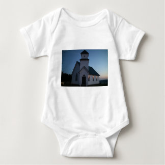Country Church Baby Bodysuit