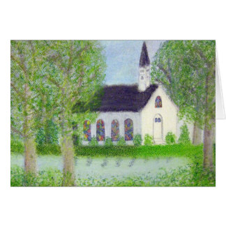 Country Church Card