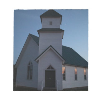 Country Church Notepad