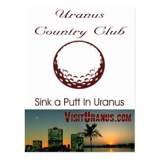 Country Club Postcard