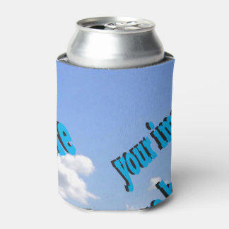 Country Cottage Create Your Own Template Can Cooler