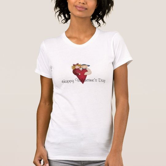 Country Couple - Happy Valentine's Day Tee