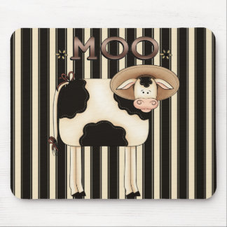 Country Cow Humor Mousepad