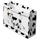 Country Cow large gift bag