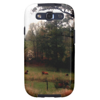 Country Cows Pasture Farm Americana Home Samsung Galaxy SIII Case