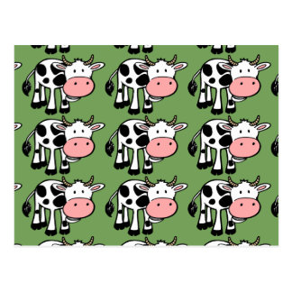 country cows postcard