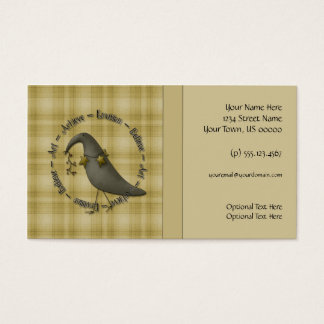 Country Crows Business Card