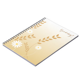 Country Daisies notepad Notebook