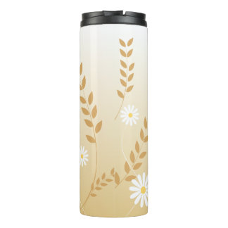 Country Daisies thermal tumbler