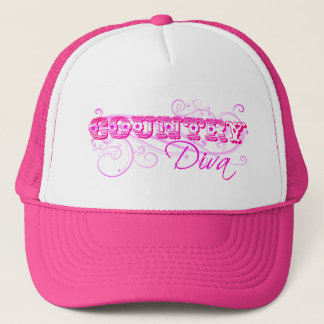 Country Diva Chic Trucker's Hat