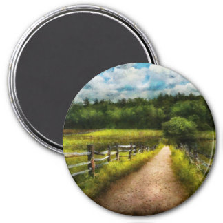 Country - Every journey starts with a path  Magnet