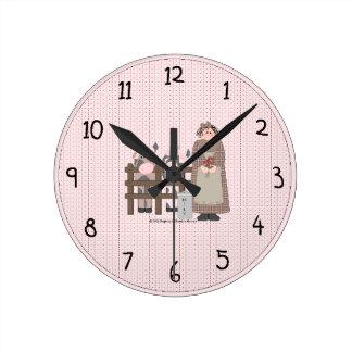 Country Farm Wall Clock