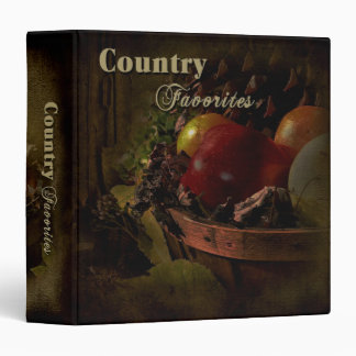 Country Favorites Binders (Recipes)