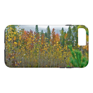 COUNTRY FIELD IN AUTUMN/MIX OF COLORS AND TEXTURES iPhone 8 PLUS/7 PLUS CASE