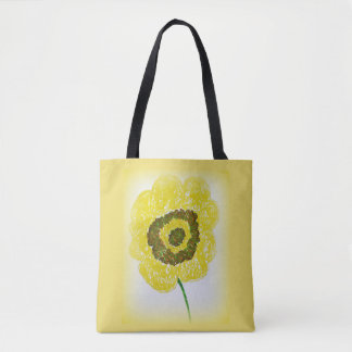 Country Floral Bloom Tote Bag