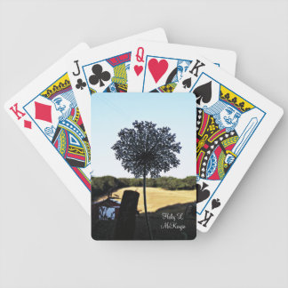 'Country Flower' Playing Cards