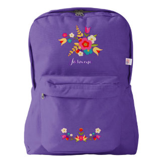 Country Flowers Backpack