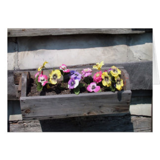Country Flowers Card