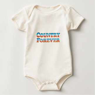 Country Forever - Clothes Only Baby Bodysuit