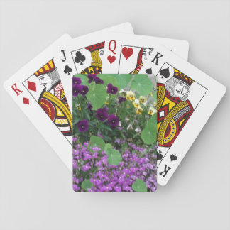 Country Garden Playing Cards