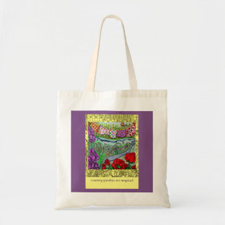 Country Gardens Are Magical Tote