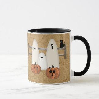 Country Ghosts Halloween Mug
