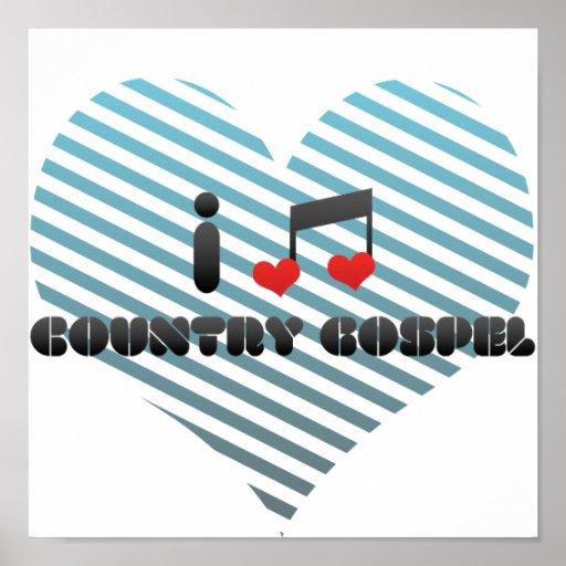 Country Gospel fan Posters