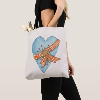 Country Heart Tote Bag