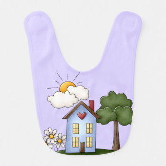 Country House Lavender Unisex Bibs