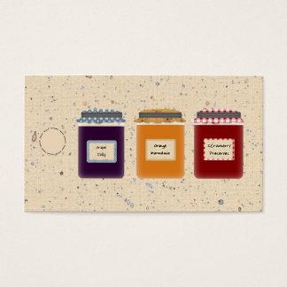 Country Jelly Jars Hang Tag /Gift  Tag