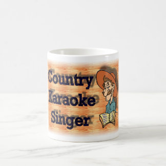 Country Karaoke  Coffee Mug