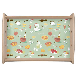 Country Kitchen Cooking Serving Trays
