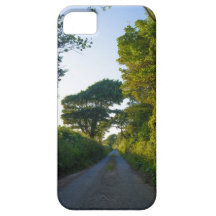 Country lane in Cornwall England iPhone 5/5S Case