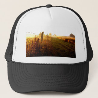 Country Lane, northern Ontario Canada Trucker Hat