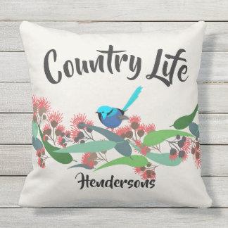 Country Life Australian Bush Throw Pillow