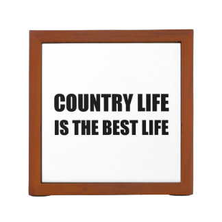 Country Life Best Life Desk Organizer