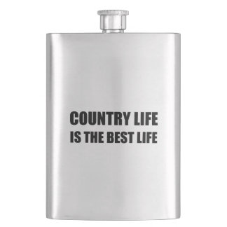 Country Life Best Life Hip Flask