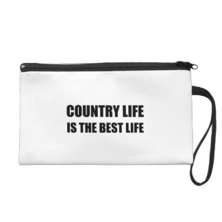 Country Life Best Life Wristlet