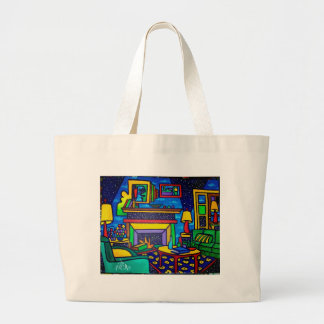 Country Living by Piliero Large Tote Bag