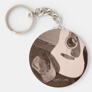 Country Living Keychain
